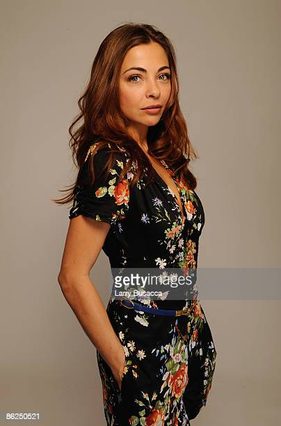 Actress Georgina Verbaan attends the Tribeca Film Festival 2009 portrait studio at DIRECTV Tribeca Press Center on April 27 2009 in New York City