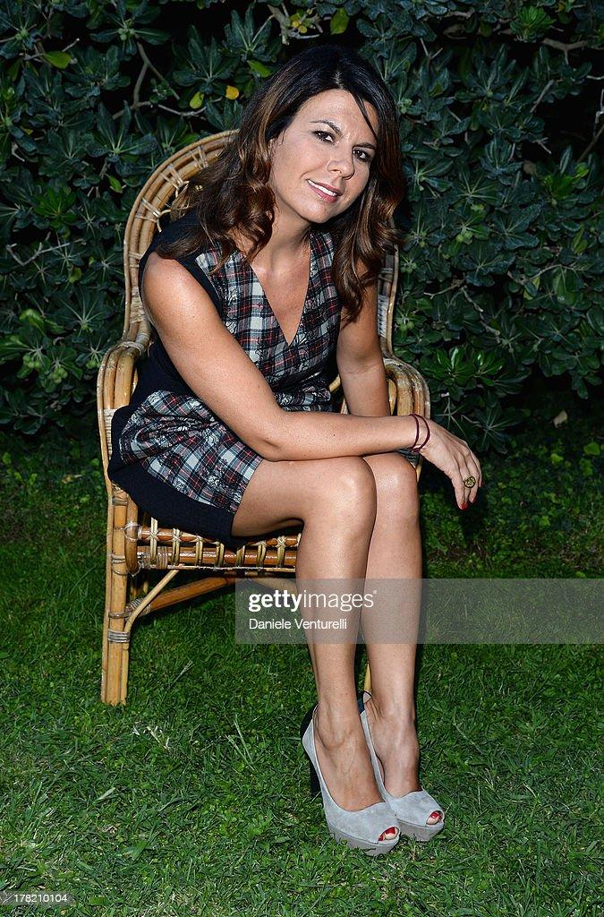 Actress Geppi Cucciari attends the 'L'Arbitro' Photocall during the 70th Venice International Film Festival at the Villa degli Autori on August 27, 2013 in Venice, Italy.