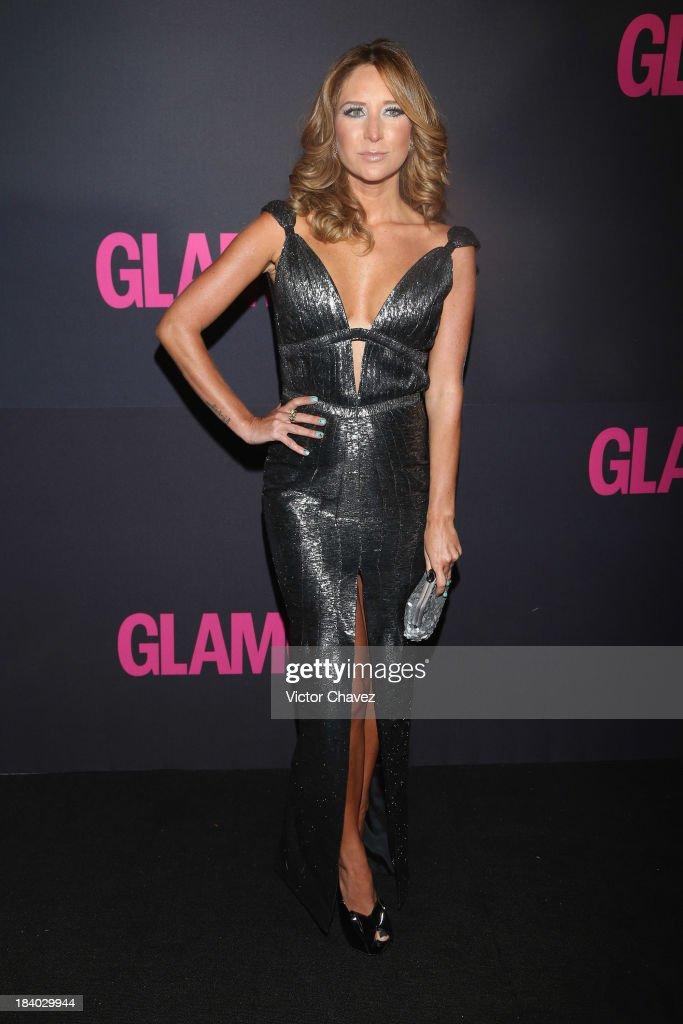 Actress Geraldine Bazan attends the Glamour Magazine 15th Anniversary at Casino Del Bosque on October 10, 2013 in Mexico City, Mexico.
