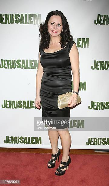 Actress Geraldine Hughes attends the opening night of 'Jerusalem' on Broadway at The Music Box Theatre on April 21 2011 in New York City