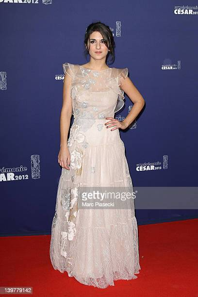 Actress Geraldine Nakache attends the 37th Cesar Film Awards at Theatre du Chatelet on February 24 2012 in Paris France