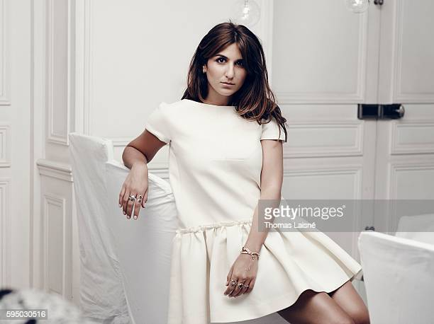 Actress Geraldine Nakache is photographed for Self Assignment on October 9 2012 in Paris France