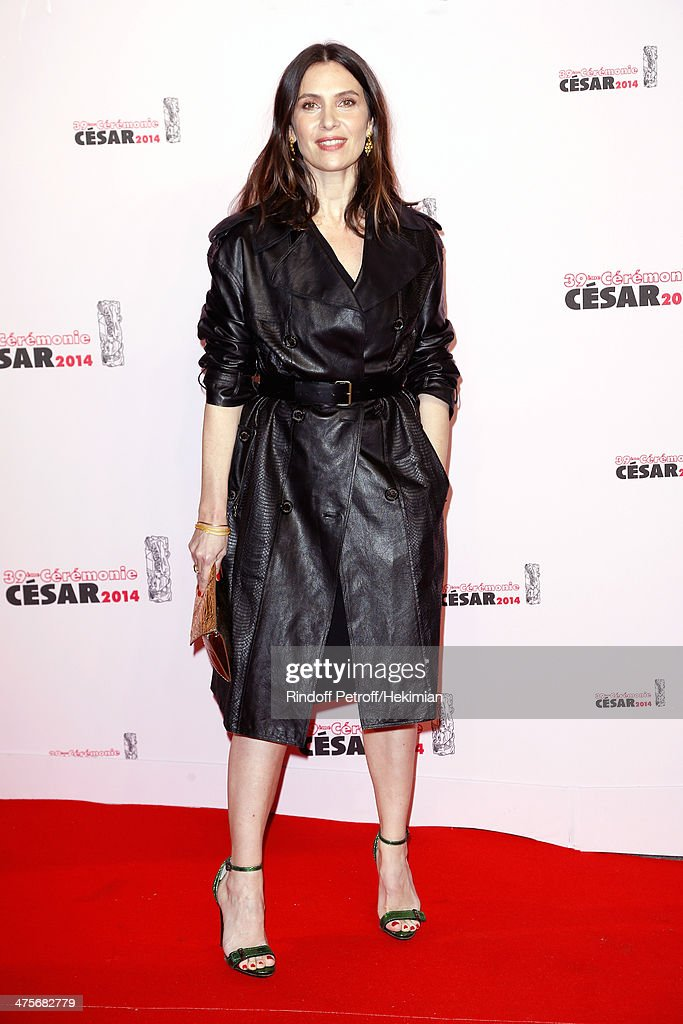 Actress Geraldine Pailhas arrives for the 39th Cesar Film Awards 2014 at Theatre du Chatelet on February 28, 2014 in Paris, France.