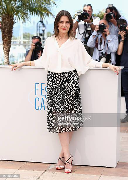 Actress Geraldine Pailhas attends the photocall for the Jury Un Certain Regard at the 67th Annual Cannes Film Festival on May 17 2014 in Cannes France