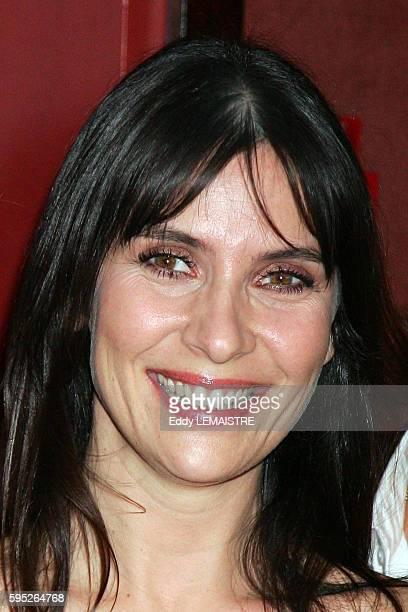Actress Geraldine Pailhas attends the premiere of 'Le Heros de la famille' in Paris