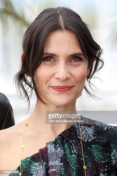 Actress Geraldine Pailhas attends the 'Rebecca H ' Photo Call held at the Palais des Festivals during the 63rd Annual International Cannes Film...