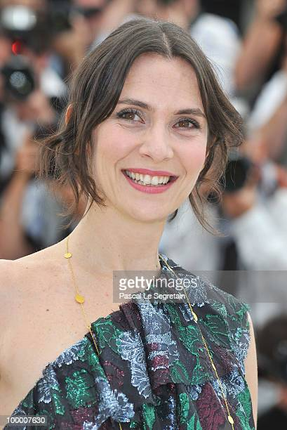 Actress Geraldine Pailhas attends the 'Rebecca H ' Photocall at the Palais des Festivals during the 63rd Annual Cannes Film Festival on May 20 2010...
