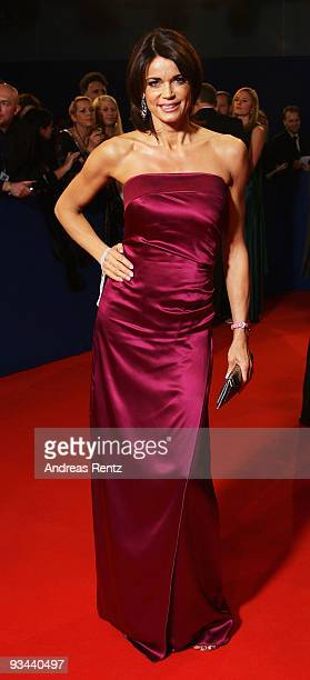Actress Gerit Kling arrives to the Bambi Awards 2009 at the Metropolis Hall at the Filmpark Babelsberg on November 26 2009 in Potsdam Germany