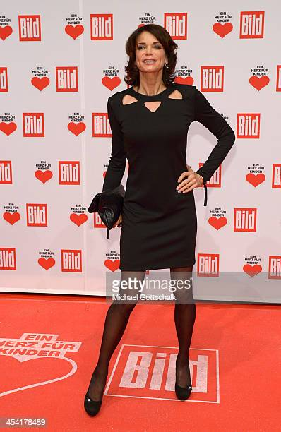 Actress Gerit Kling attends the Ein Herz Fuer Kinder Gala 2013 at Flughafen Tempelhof on December 7 2013 in Berlin Germany