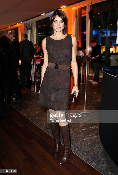 Actress Gerit Kling attends the presentation of the new 'BMW 5er Gran Turismo' and 'BMW X1' at a BMW branch on October 8 2009 in Berlin Germany