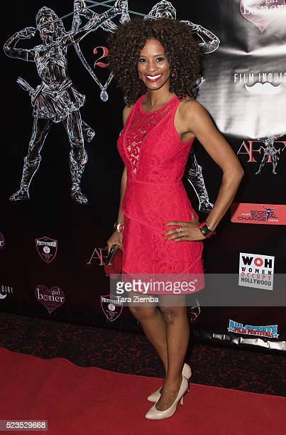 Actress Germany Kent attends the 2nd Annual Artemis Film FestivalRed Carpet Opening Night/Awards Presentation at Ahrya Fine Arts Movie Theater on...