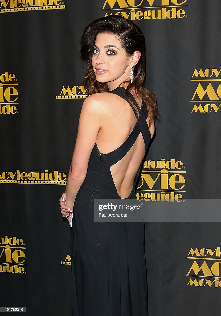 Actress Gia Mantegna attends the 21st annual Movieguide Awards at Hilton Universal City on February 15, 2013 in Universal City, California.