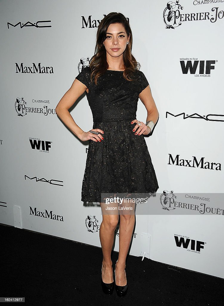 Actress Gia Mantegna attends the 6th annual Women In Film pre-Oscar cocktail party at Fig & Olive Melrose Place on February 22, 2013 in West Hollywood, California.