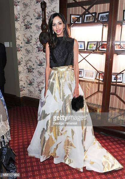 Actress Gia Sandhu attends the Holt Renfrew cast dinner for 'Beeba Boys' during the 2015 Toronto International Film Festival at The Mongrel House on...