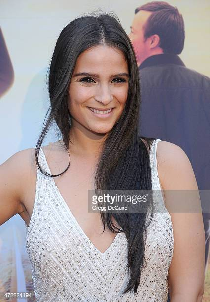 Actress Gianna Simone arrives at the Los Angeles premiere of 'Where Hope Grows' at ArcLight Cinemas on May 4 2015 in Hollywood California