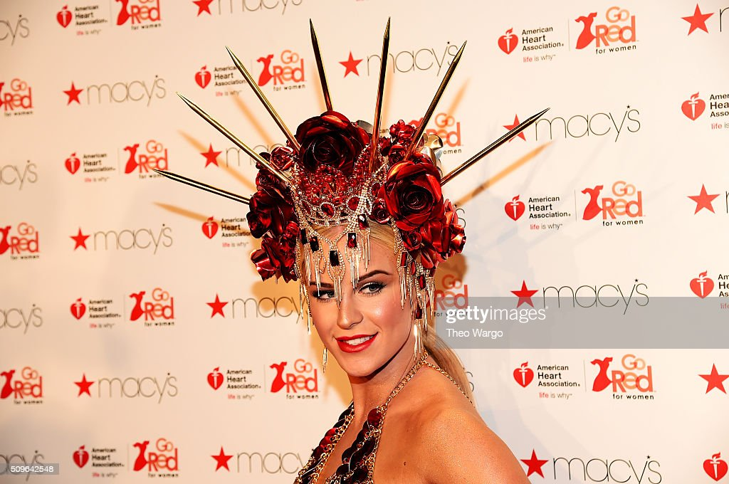 Actress <a gi-track='captionPersonalityLinkClicked' href=/galleries/search?phrase=Gigi+Gorgeous&family=editorial&specificpeople=12850634 ng-click='$event.stopPropagation()'>Gigi Gorgeous</a> attends The American Heart Association's Go Red For Women Red Dress Collection 2016 Presented By Macy's at The Arc, Skylight at Moynihan Station on February 11, 2016 in New York City.