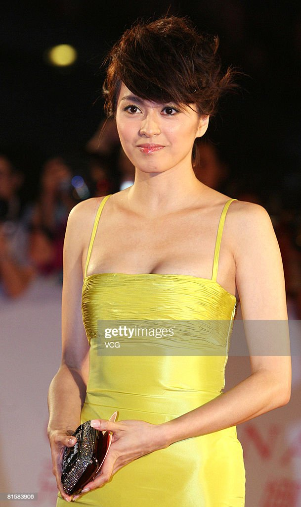Actress Gigi Leung arrives at the opening ceremony of the 11th Shanghai Film Festival on June 14, 2008 in Shanghai, China.