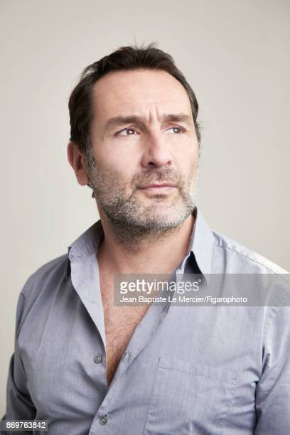 Actress Gilles Lellouche is photographed for Madame Figaro on September 15 2017 at the Toronto Film Festival in Toronto Ontario PUBLISHED IMAGE...