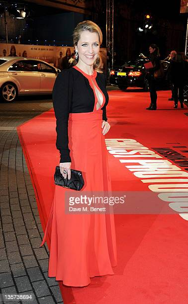 Actress Gillian Anderson attends the UK Premiere of 'Mission Impossible Ghost Protocol' at BFI IMAX on December 13 2011 in London England