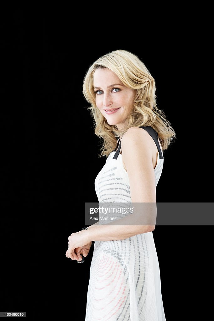 Actress <a gi-track='captionPersonalityLinkClicked' href=/galleries/search?phrase=Gillian+Anderson&family=editorial&specificpeople=202894 ng-click='$event.stopPropagation()'>Gillian Anderson</a> is photographed for Chicago Sun Times Sunday Splash on March 14, 2014 in New York City. PUBLISHED