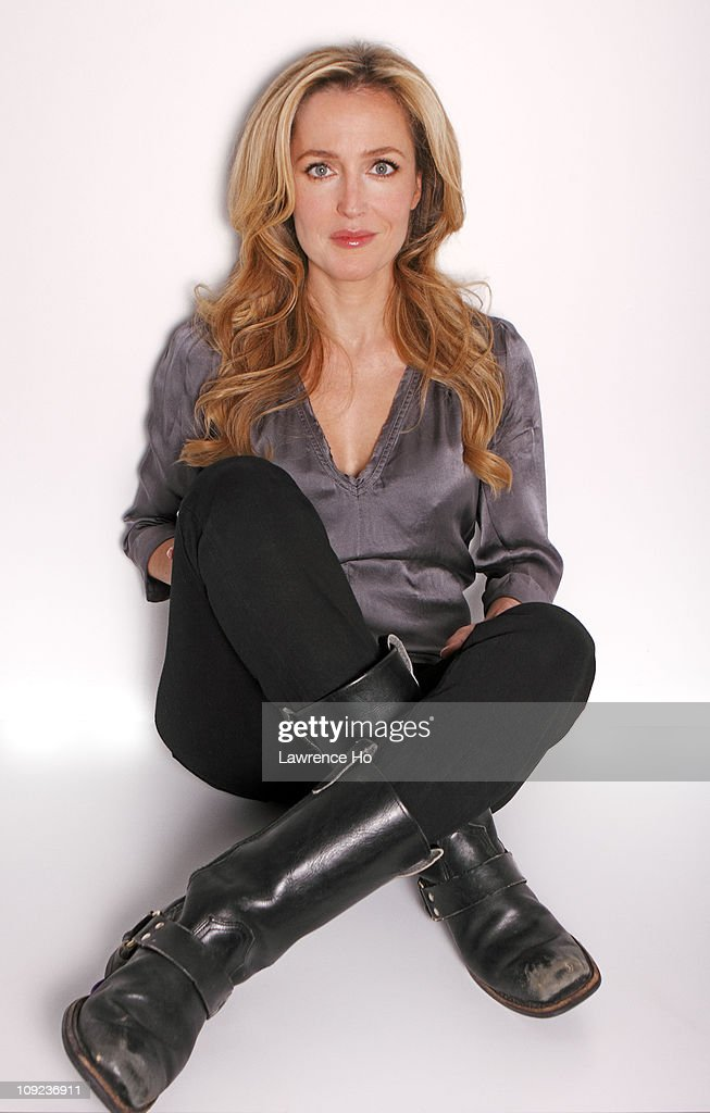 Actress <a gi-track='captionPersonalityLinkClicked' href=/galleries/search?phrase=Gillian+Anderson&family=editorial&specificpeople=202894 ng-click='$event.stopPropagation()'>Gillian Anderson</a> is photographed for Los Angeles Times in West Hollywood, California. PUBLISHED IMAGE.