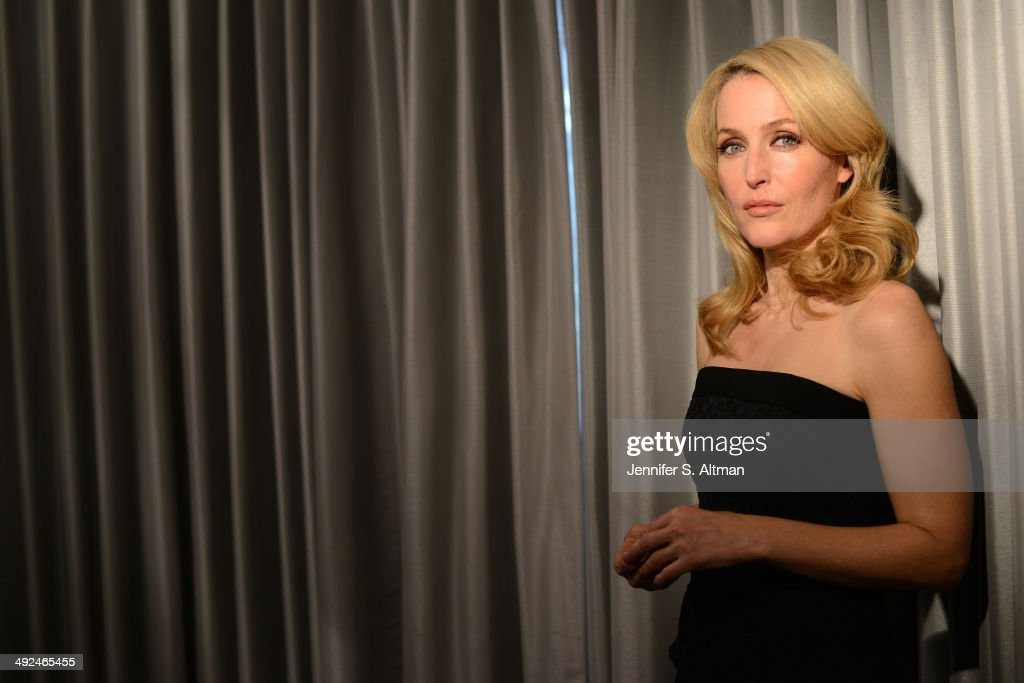 Actress <a gi-track='captionPersonalityLinkClicked' href=/galleries/search?phrase=Gillian+Anderson&family=editorial&specificpeople=202894 ng-click='$event.stopPropagation()'>Gillian Anderson</a> is photographed for Los Angeles Times on March 14, 2014 in New York City.