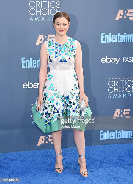 Actress Gillian Jacobs arrives at The 22nd Annual Critics' Choice Awards at Barker Hangar on December 11 2016 in Santa Monica California