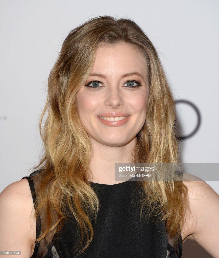 Actress Gillian Jacobs arrives at The Hollywood Reporter's 22nd Annual Women In Entertainment Breakfast at Beverly Hills Hotel on December 11, 2013 in Beverly Hills, California.