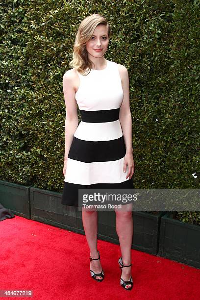 Actress Gillian Jacobs attends the 11th annual John Varvatos Stuart House Benefit held at the John Varvatos on April 13 2014 in Los Angeles California