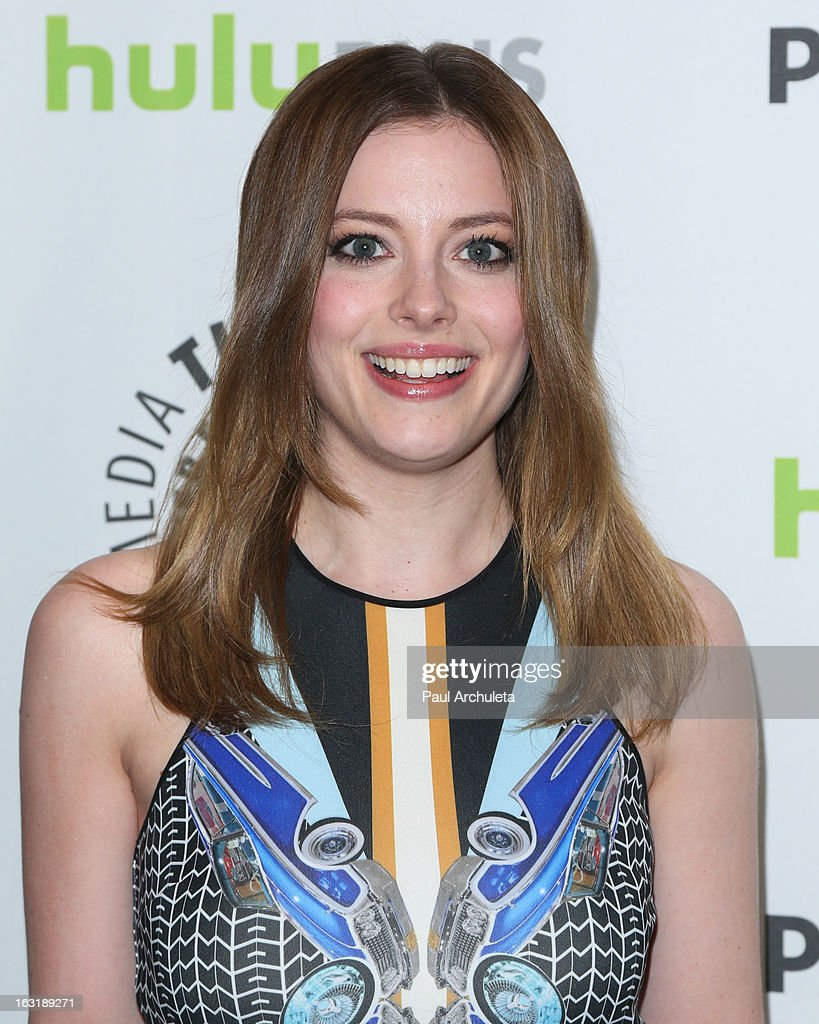 Actress <a gi-track='captionPersonalityLinkClicked' href=/galleries/search?phrase=Gillian+Jacobs&family=editorial&specificpeople=4836757 ng-click='$event.stopPropagation()'>Gillian Jacobs</a> attends the 30th annual PaleyFest featuring the cast of 'Community' at the Saban Theatre on March 5, 2013 in Beverly Hills, California.