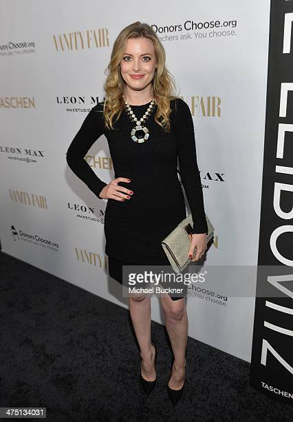 Actress Gillian Jacobs attends The Annie Leibovitz SUMOSize Book Launch presented by Vanity Fair Leon Max and Benedikt Taschen during Vanity Fair...