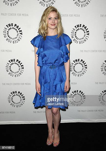 Actress Gillian Jacobs attends the 'Community' event at the 27th annual PaleyFest at Saban Theatre on March 3 2010 in Beverly Hills California