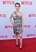 Actress Gillian Jacobs attends the Netflix Emmy Season Casting Event at Paramount Theatre on June 13 2016 in Hollywood California
