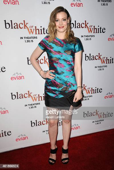 Actress Gillian Jacobs attends the premiere of 'Black or White' at Regal Cinemas LA Live on January 20 2015 in Los Angeles California