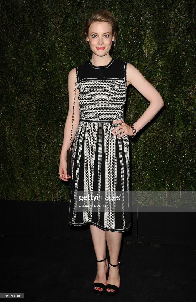 Actress <a gi-track='captionPersonalityLinkClicked' href=/galleries/search?phrase=Gillian+Jacobs&family=editorial&specificpeople=4836757 ng-click='$event.stopPropagation()'>Gillian Jacobs</a> attends the release of 'Find It In Everything' at Chanel Boutique on January 14, 2014 in Beverly Hills, California.