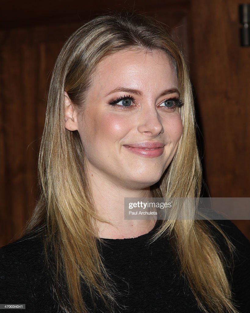 Actress Gillian Jacobs attends the 'RuPaul's Drag Race' season 6 premiere party at The Roosevelt Hotel on February 17 2014 in Hollywood California