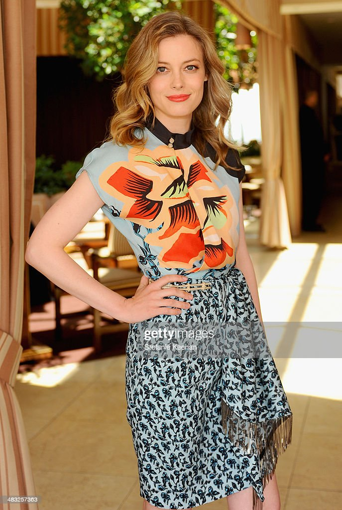 Actress Gillian Jacobs attends Vogue Lunch In Celebration Of The Etro Spring Collection Hosted By Sally Singer at Sunset Tower Hotel on April 3 2014...