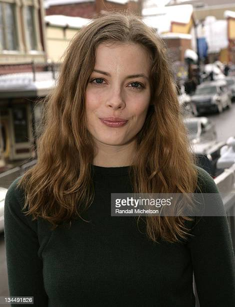 Actress Gillian Jacobs of 'Choke' poses at the Sky 360 Delta Lounge during 2008 Sundance Film Festival on January 22 2008 in Park City Utah