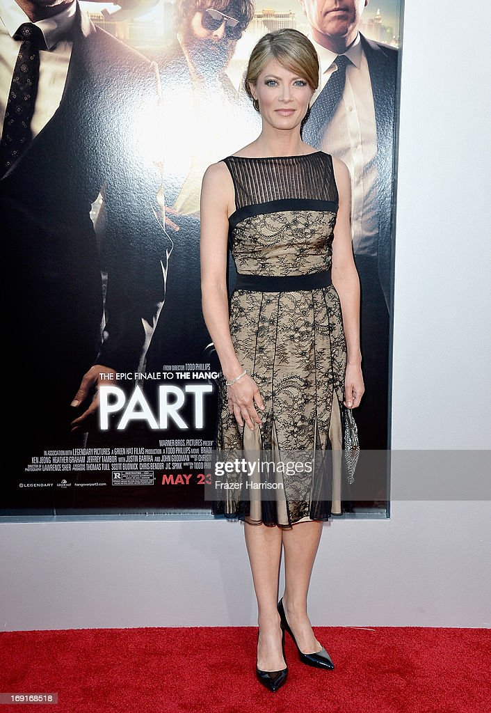 Actress Gillian Vigman attends the premiere of Warner Bros. Pictures' 'Hangover Part 3' at Westwood Village Theater on May 20, 2013 in Westwood, California.