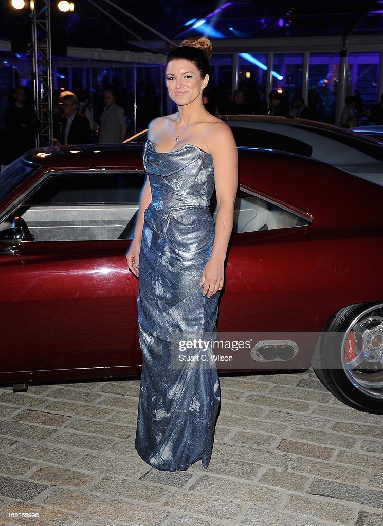 Actress Gina Carano attends the 'Fast & Furious 6' World Premiere after party at Somerset House on May 7, 2013 in London, England.