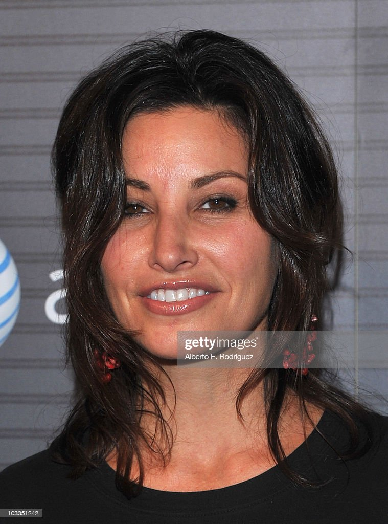 Actress Gina Gershon arrives at the Blackberry Torch launch party on August 11 2010 in Los Angeles California