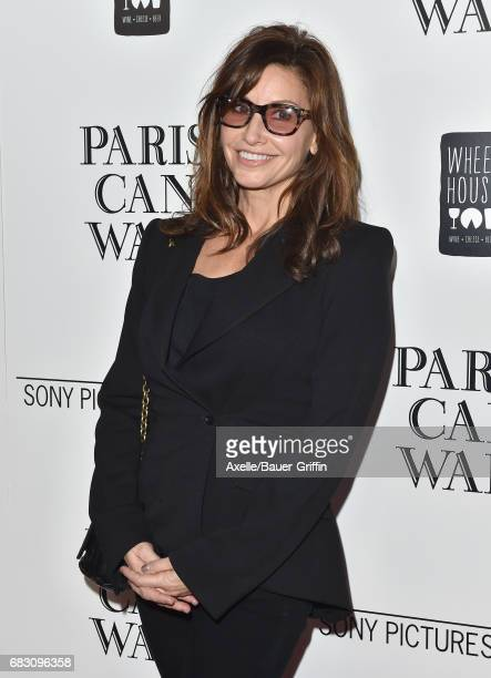 Actress Gina Gershon arrives at the Los Angeles premiere of Sony Pictures Classics' 'Paris Can Wait' at Pacific Design Center on May 11 2017 in West...