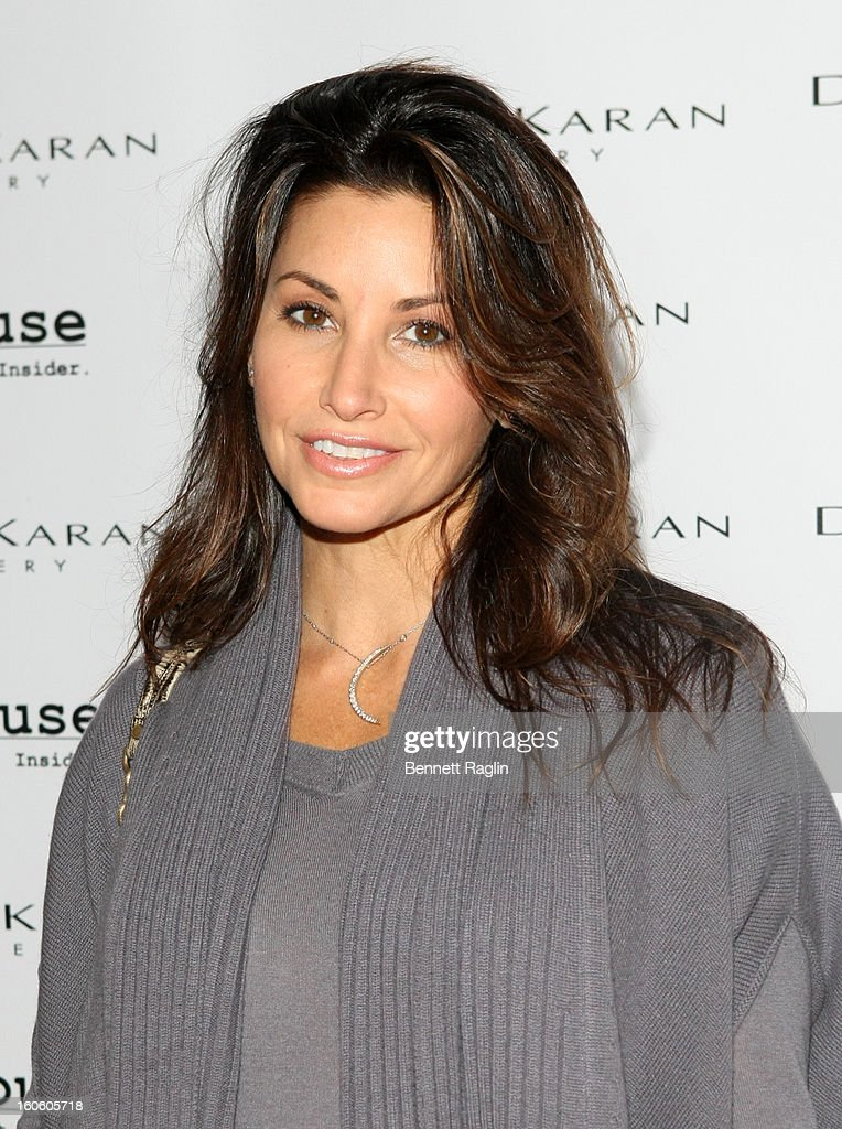 Actress <a gi-track='captionPersonalityLinkClicked' href=/galleries/search?phrase=Gina+Gershon&family=editorial&specificpeople=203099 ng-click='$event.stopPropagation()'>Gina Gershon</a> attends 'Haven't We Met Before?' New York Premiere at 711 Greenwich Street on February 3, 2013 in New York City.