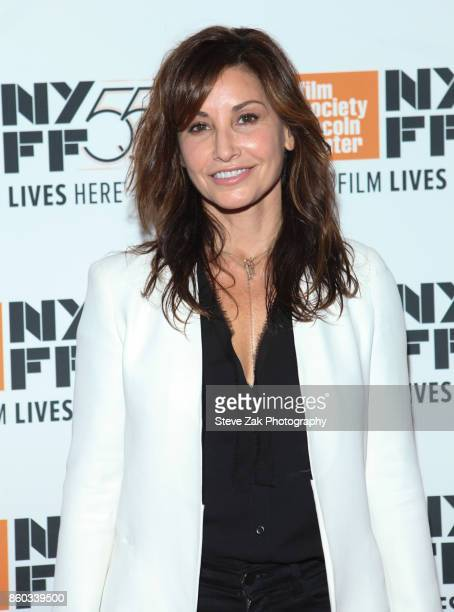 Actress Gina Gershon attends 'Joan Didion The Center Will Not Hold' during the 55th New York Film Festival at Alice Tully Hall on October 11 2017 in...