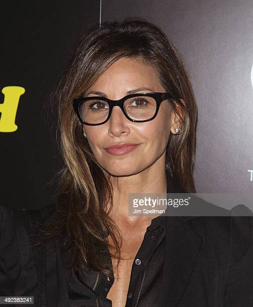 Actress Gina Gershon attends Magnolia Pictures with The Cinema Society screening of 'Filth'at Landmark's Sunshine Cinema on May 19 2014 in New York...