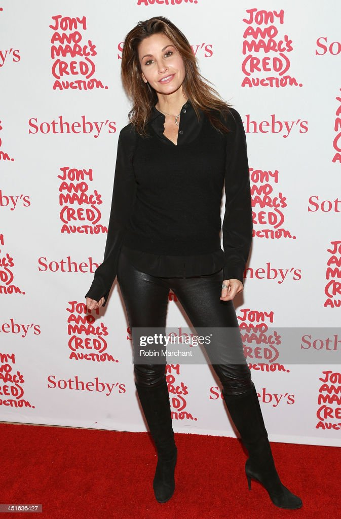Actress <a gi-track='captionPersonalityLinkClicked' href=/galleries/search?phrase=Gina+Gershon&family=editorial&specificpeople=203099 ng-click='$event.stopPropagation()'>Gina Gershon</a> attends the 2013 (RED) Auction Celebrating Masterworks Of Design and Innovation on November 23, 2013 in New York, United States.