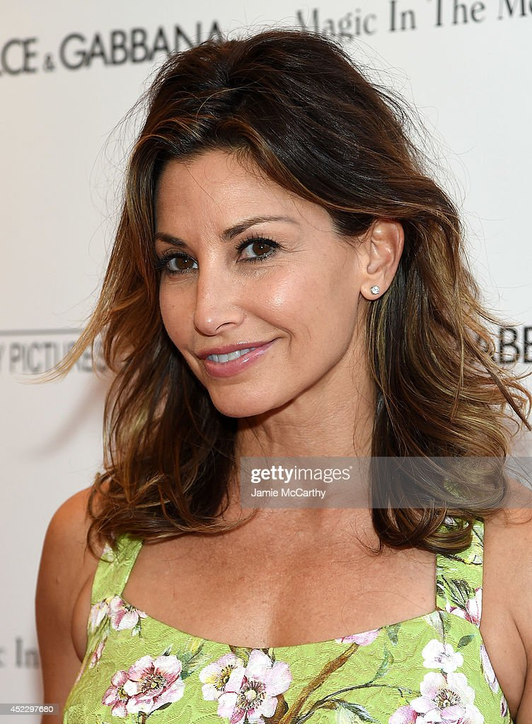 Actress <a gi-track='captionPersonalityLinkClicked' href=/galleries/search?phrase=Gina+Gershon&family=editorial&specificpeople=203099 ng-click='$event.stopPropagation()'>Gina Gershon</a> attends the 'Magic In The Moonlight' premiere at the Paris Theater on July 17, 2014 in New York City.