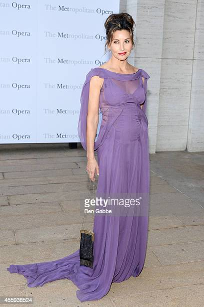 Actress Gina Gershon attends the Metropolitan Opera Season Opening at The Metropolitan Opera House on September 22 2014 in New York City