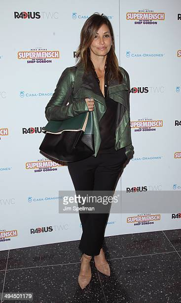 Actress Gina Gershon attends the New York premiere of 'The Legend Of Shep Gordon' at The Museum of Modern Art on May 29 2014 in New York City