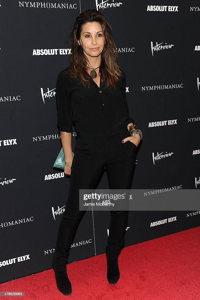 Actress <a gi-track='captionPersonalityLinkClicked' href=/galleries/search?phrase=Gina+Gershon&family=editorial&specificpeople=203099 ng-click='$event.stopPropagation()'>Gina Gershon</a> attends the 'Nymphomaniac: Volume I' New York screening at Museum of Modern Art on March 13, 2014 in New York City.